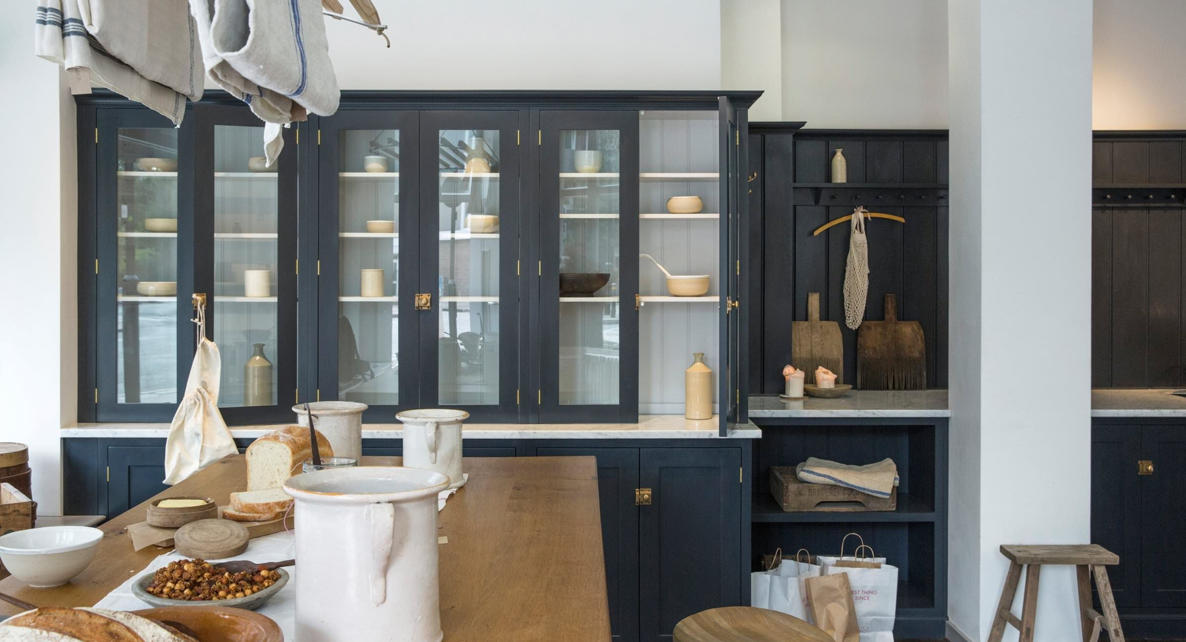 The Clerkenwell Shaker Showroom - Devol Kitchens