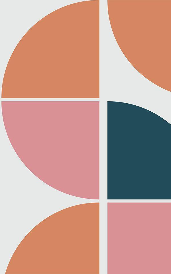 Breuer Retro Geometric Wallpaper Mural