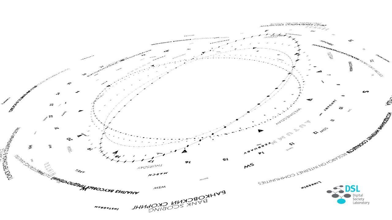 Audiovisuales |  Título: Kinetic Calendar |  Agencia/Estudio: Egoitz Aulestia |  Cliente: Digital Society Laboratory |  Núm: 279