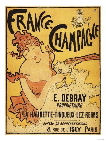 Champagne, France - E. Debray Champagne