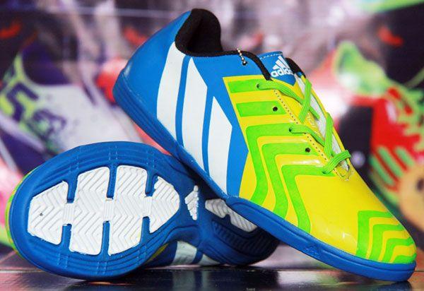 Adidas New Predator Lz Biru Kuning Stabi Rp 140 000 Sepatu