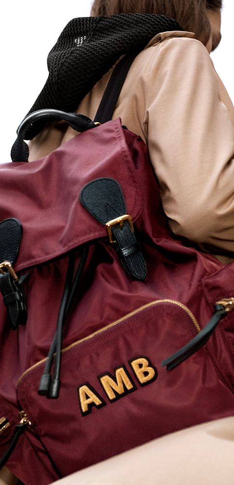 1a976f9b60d Monogram The Rucksack with up to three initals, for a personal touch.