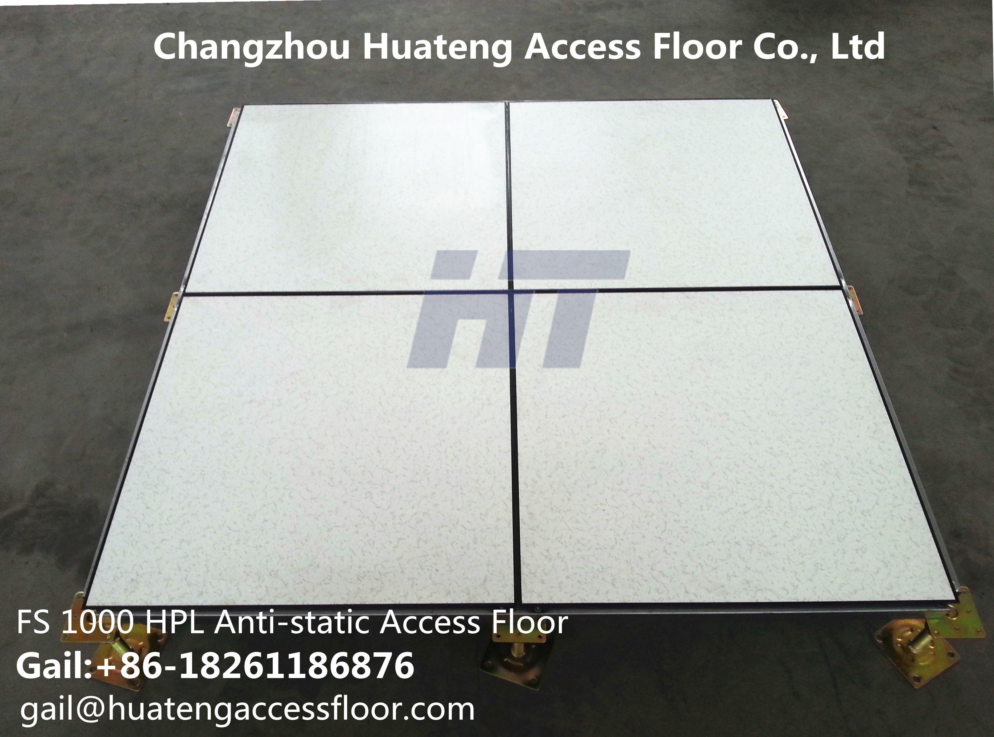 Ht Hpl Anti Static Raised Floor With 1200mm Stringers 高架活動