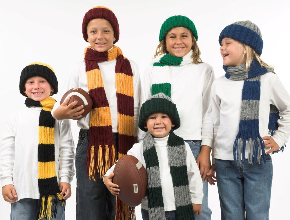 A Spectacular Set Of Sports Fan Free Knitting Patterns Knitting