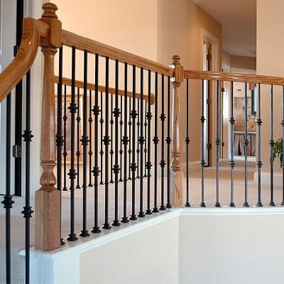 Best 44 In X 5 In Satin Black Double Knuckle Metal Baluster 400 x 300