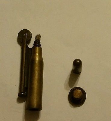 Vintage Early Bullet Shaped Trench Lighter | Lighters
