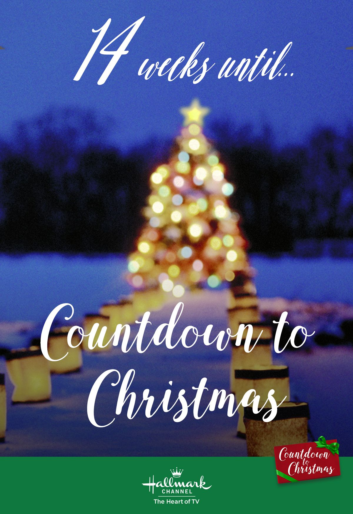 Christmas Countdown 2019.14 Weeks Until The Start Of Countdown To Christmas Our