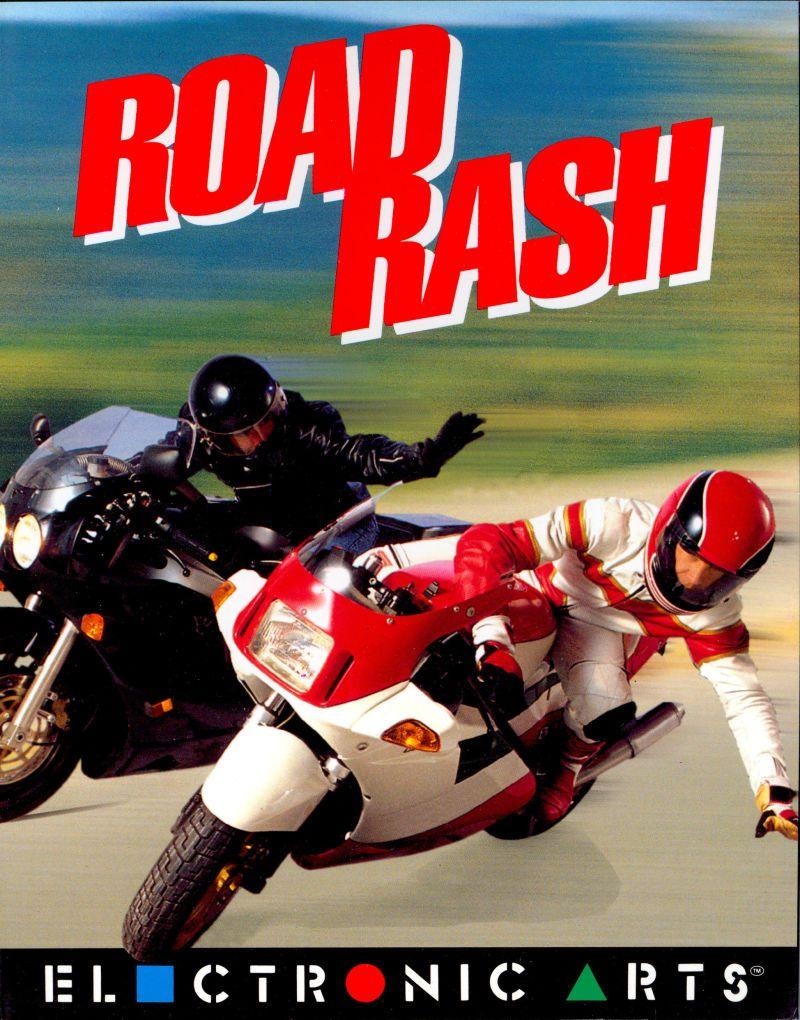 Road Rash Amiga Front Cover Cover Art Retro Gaming Road Rash