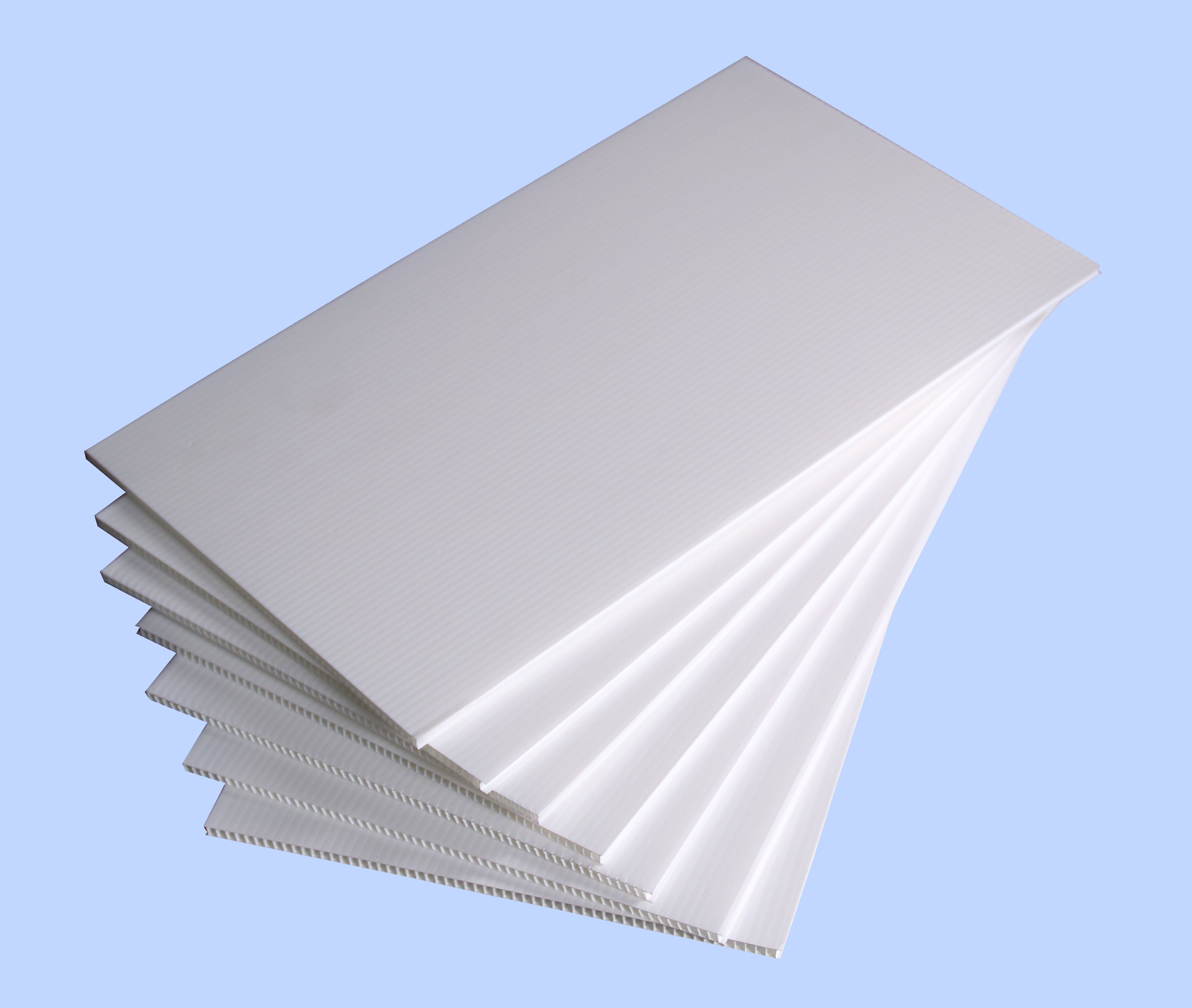 White Pp Hollow Board Wholesale Corrugated Plastic Sheets Corrugated Plastic Panels Corrugated Plastic