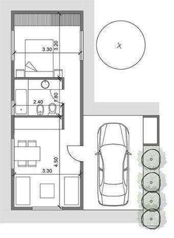 22+ Denah & Desain Rumah Type 36: Mungil Tapi Nyaman ...