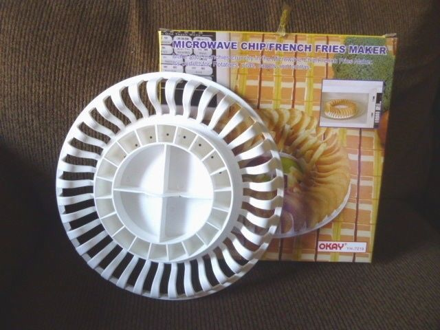 Microwave Chip French Fries Maker New In Box