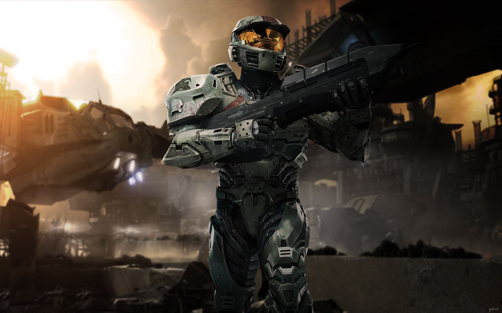 Halo wars wp 3 by igotgame1075 on deviantart halo - Master chief in halo reach ...