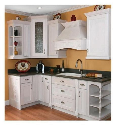 Modern White Shaker Kitchen Cabinets DIY RTAs Ideal for Quick ...