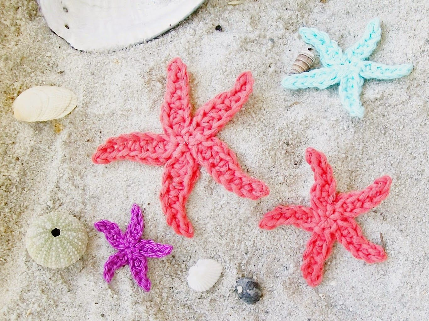 Flower Girl Cottage Free Starfish Crochet Pattern Cute Things