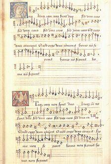 Photo of Anne Boleyn's music book