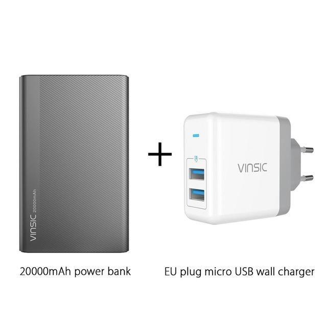 cf9e7594e Vinsic 5V 3A 20000mAh Type-C Power Bank - Buy Online in USA – Gembonics
