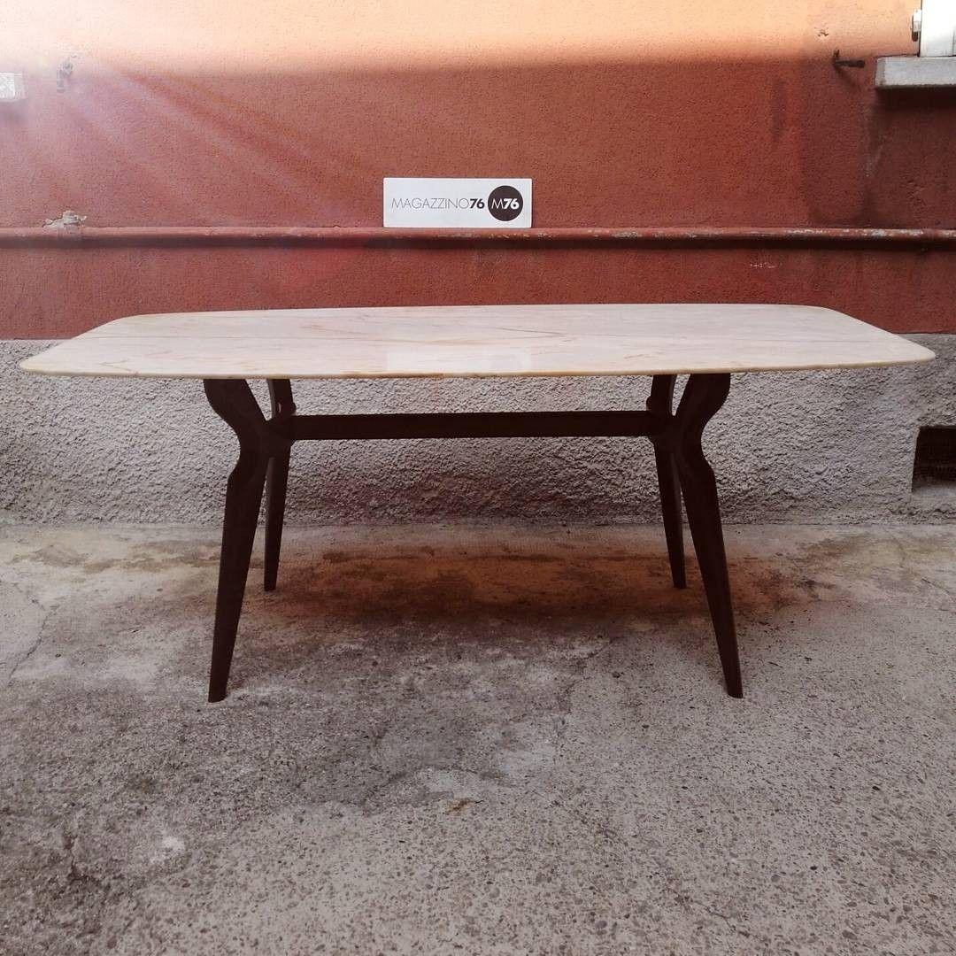Tavolo Da Cucina Con Piano In Marmo Anni 50.Tavolo Anni 50 In Marmo Rosa Del Portogallo Ottime