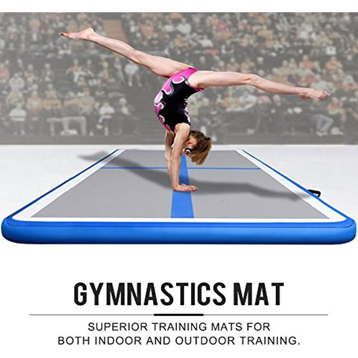 ELEVENS Airtrack Gymnastic Tumbling Mat Inflatable Air