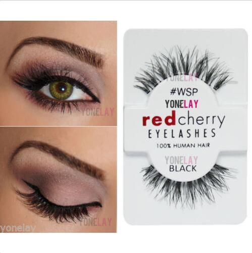 962b989faac Lot 2 Pairs RED CHERRY #WSP Wispies False Eyelashes Wispy Fake Eye Lashes-in  False Eyelashes from Health & Beauty on Aliexpress.com | Alibaba Group