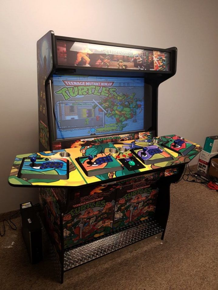 4 Player Arcade Cabinet Plans Lcd  New Blog Wallpapers