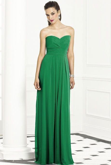 Kelly Green Bridesmaid Dresses | Chiffon bridesmaid dresses ...