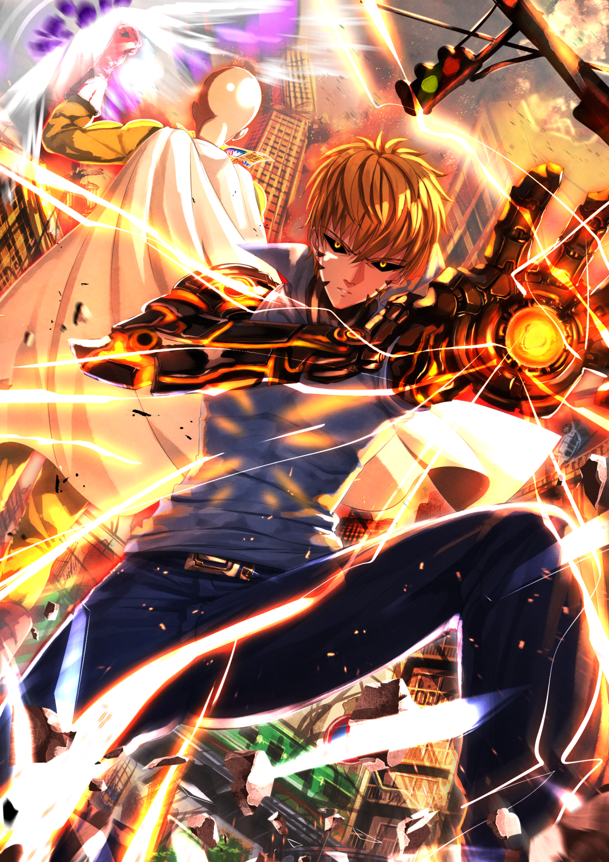 Simple Wallpaper Android One Punch Man - eccf8b062c32371723c958e783dcde83  Pic_64236      .png