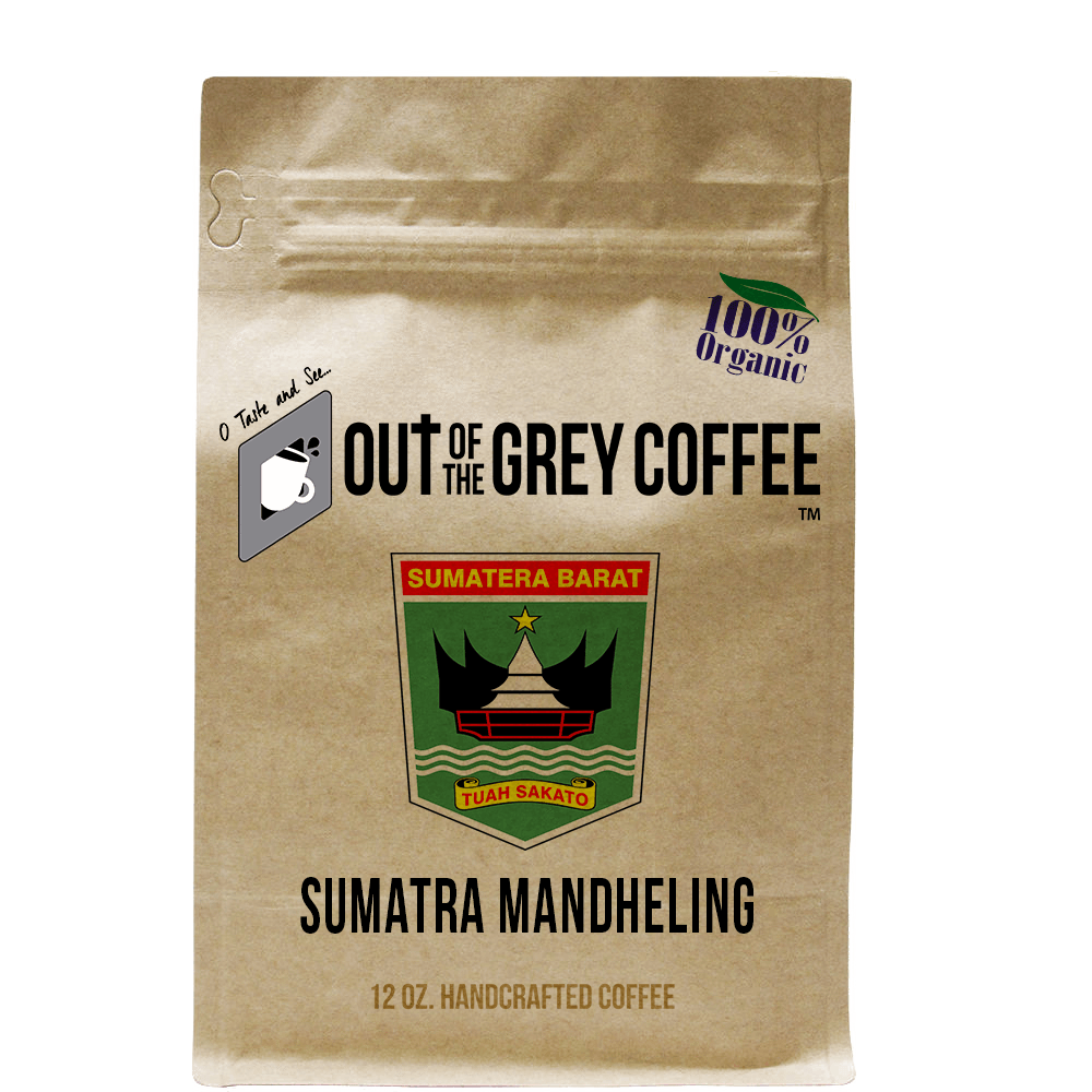 Single Origin Sumatra Mandheling Organic Coffee