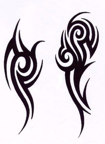 Tatuajes Y Tattoos Tribales En El Brazo Y Su Significado Tatuajes