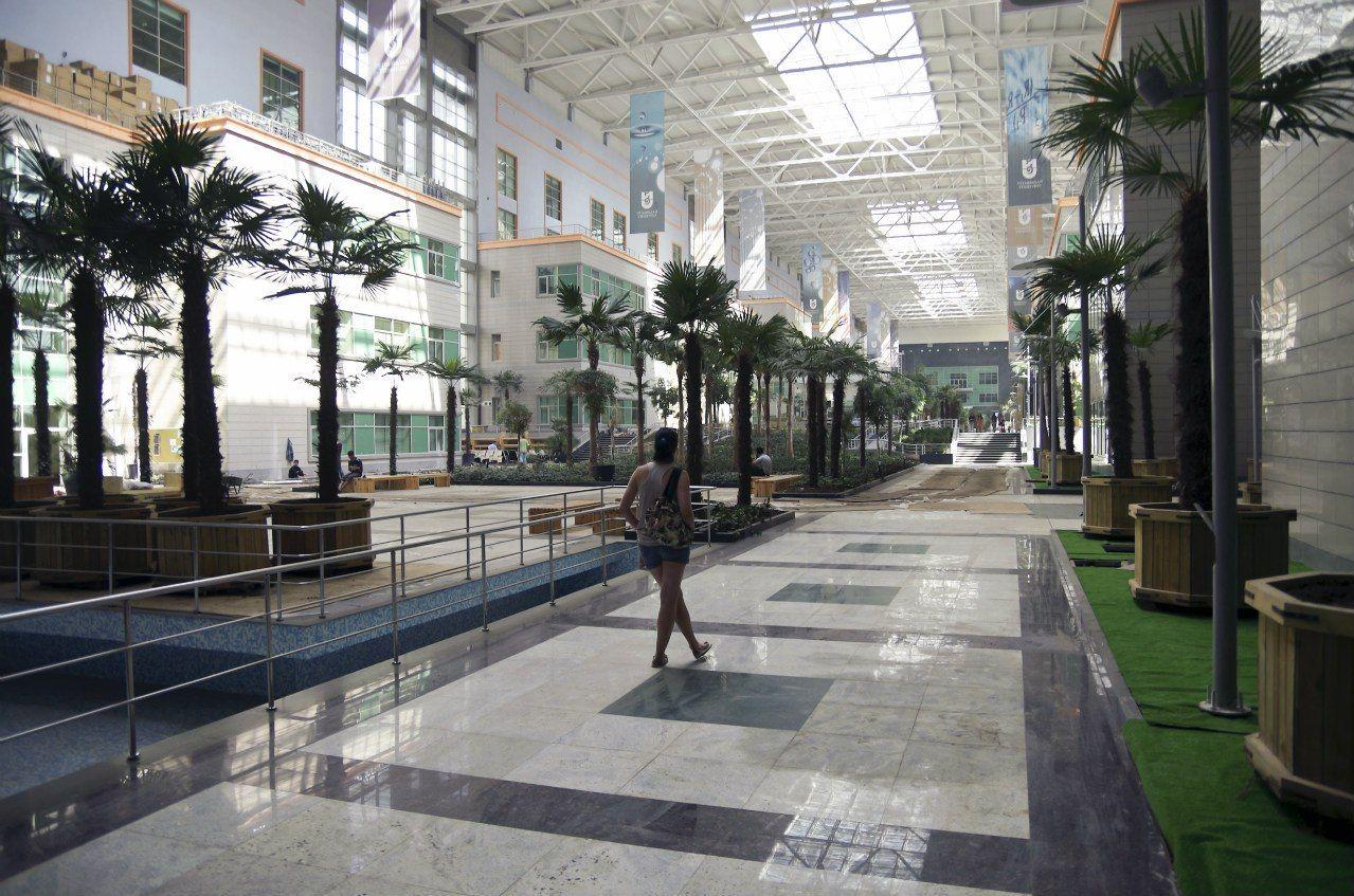 Библиотека Университета Назарбаева в столице Казахстана Астане