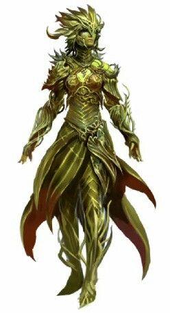 Gw2 Sylvari Fantasy Concept Art Concept Art Characters Character Art