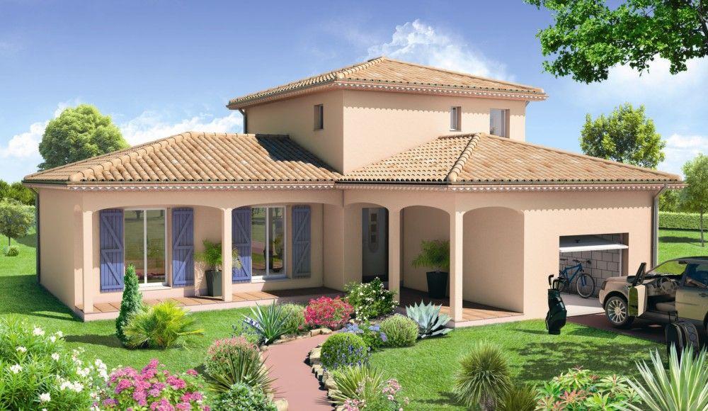 Modèle de maison Villa Florida -  Retrouvez tous les types de - plan maison avec cotation