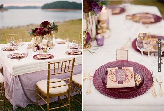 romantic purple wedding decor | CHECK OUT MORE IDEAS AT WEDDINGPINS ...