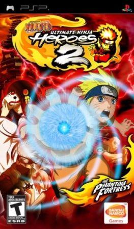 Naruto Ultimate Ninja Heroes 2 The Phantom Fortress Psp With