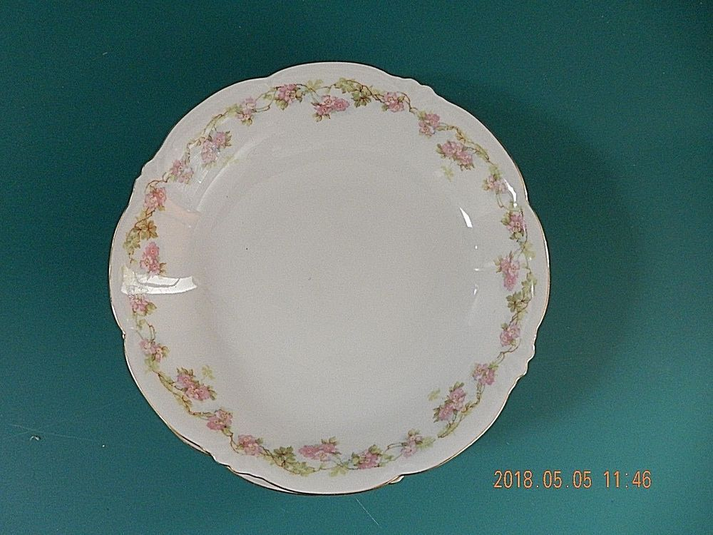 This Is The Habsberg China Mz Rose Garland Pattern Austria They