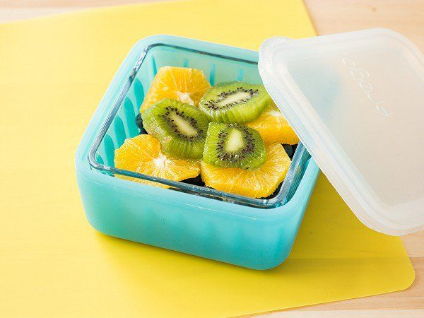 These small glass tupperware containers, discovered by The Grommet, can easily go from your oven to your fridge or lunchbox.