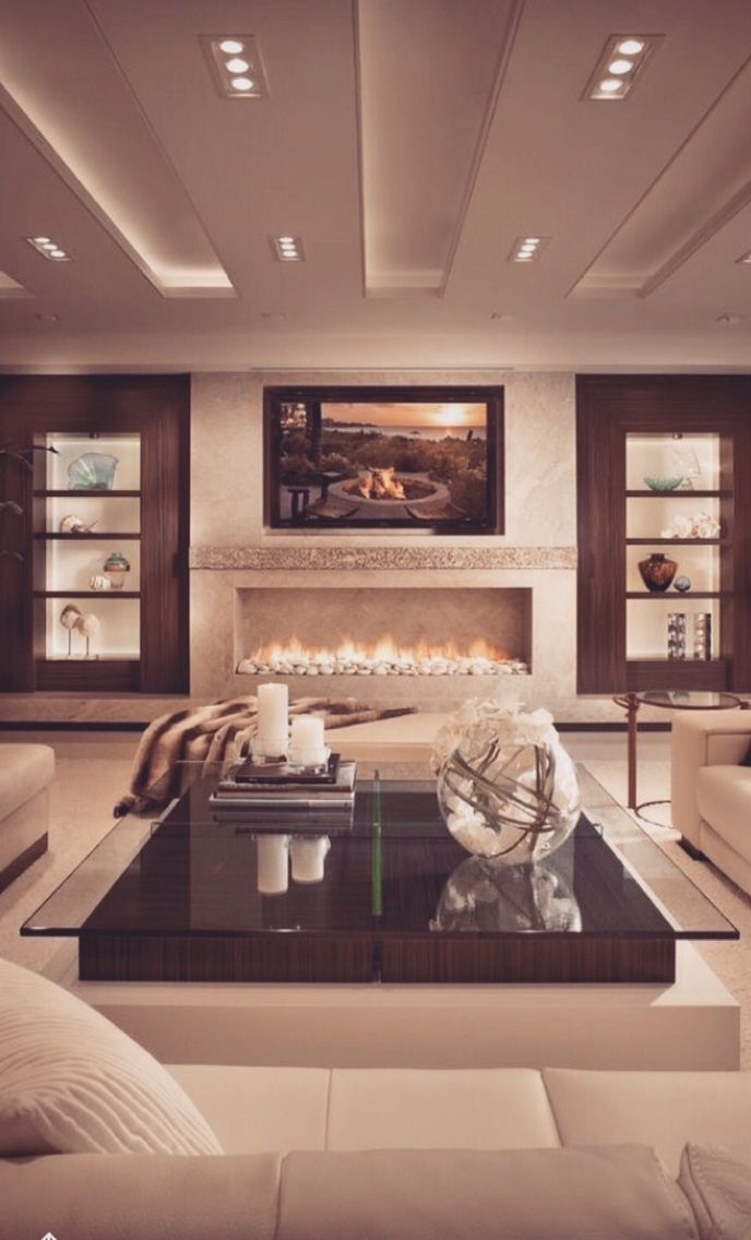 This is definitely a cozy living space The naturalistic design and