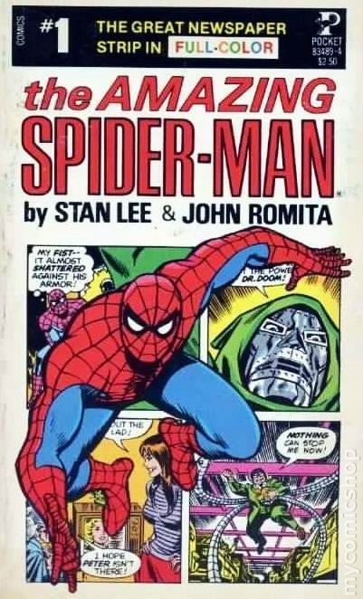 The Amazing Spider-Man #1 collects the newspaper comic strip by ...