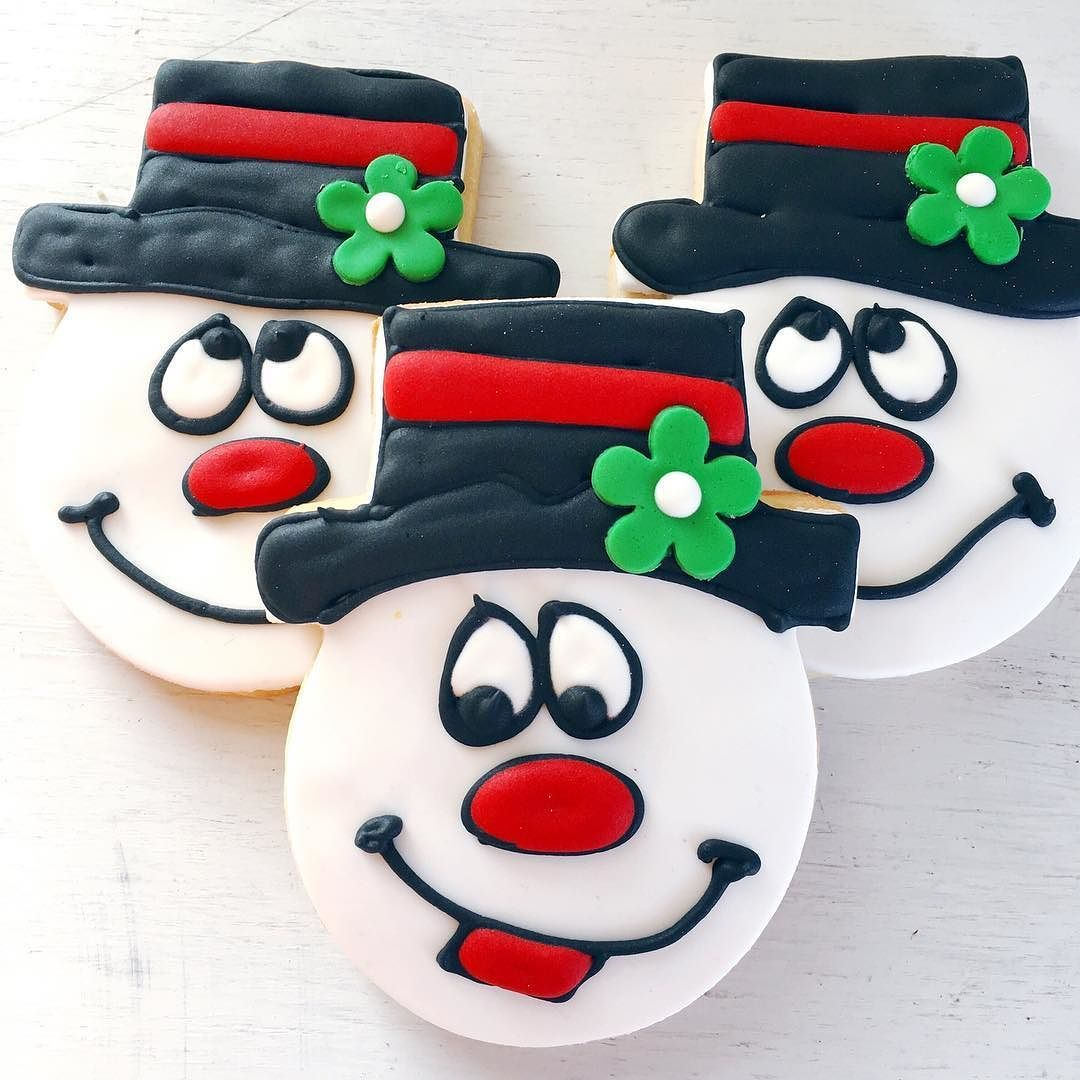 Frosty the Snowman is here in time for Christmas! Pick these up in either store before they melt away!! #CPChristmas #customcookies