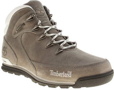 Cantidad limitada elegir oficial zapatos clasicos Timberland Euro Rock Hiker Mens Dark Grey Leather Hiker Outdoor ...