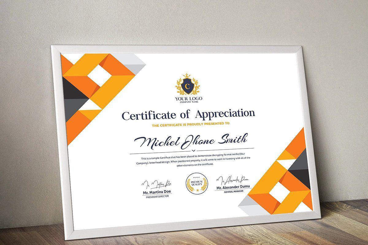 Certificate Certificate Design Template Certificate Templates Certificate