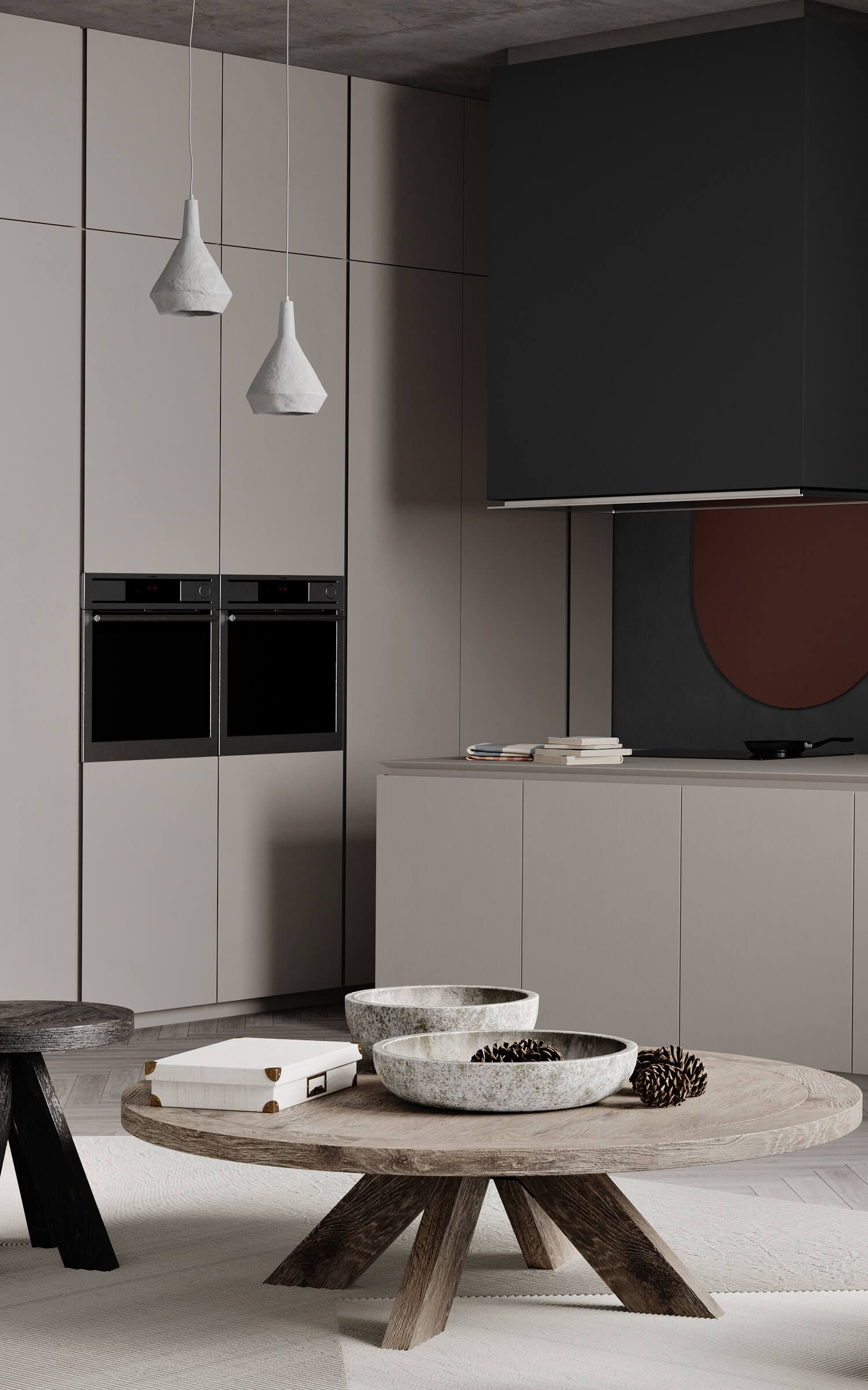 Autodesk Room Design: Trendy Living Apartment // Cgi Visualization In 2020