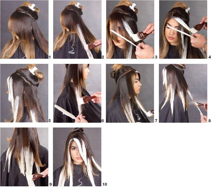 TÉCNICA DE COLOR : Puntas Decoloradas | Hair lengths, Galleries and ...