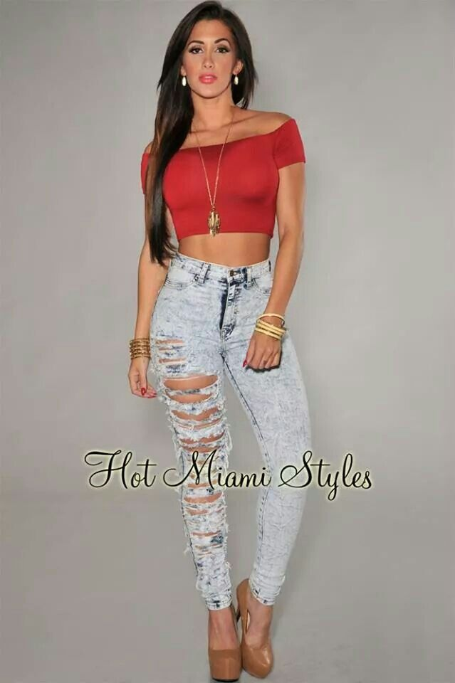a502b66bb355 Hot Miami Styles. Luv the Jeans!