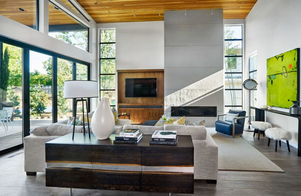 Contemporary Sandhill Crane Villa in Portland Oregon