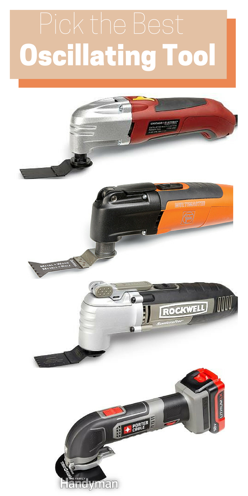 Oscillating Tool Reviews Learn How To Find The Best Oscillating