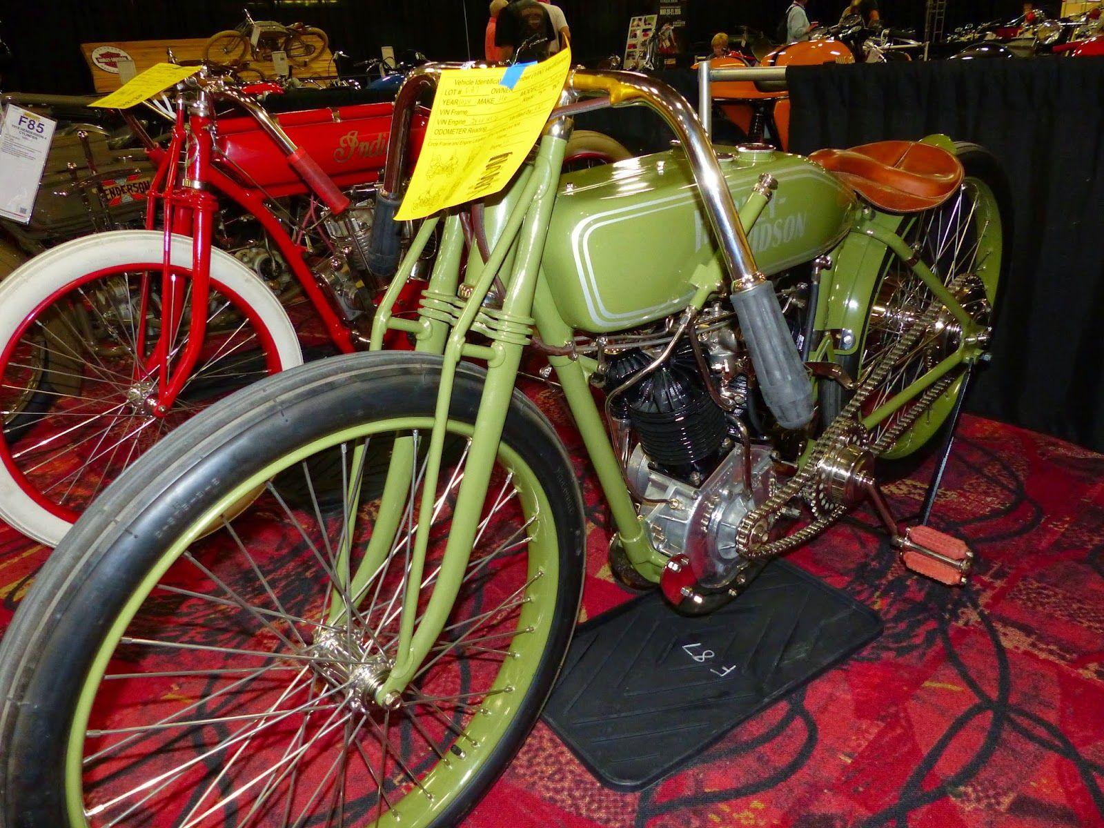 1924 harleydavidson board track racer sold for 45000 at