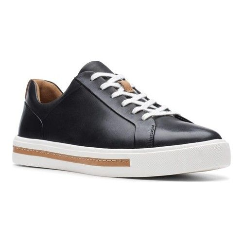 Clarks Un Maui Lace Sneaker Lace Sneakers Black Leather Sneakers Sneakers