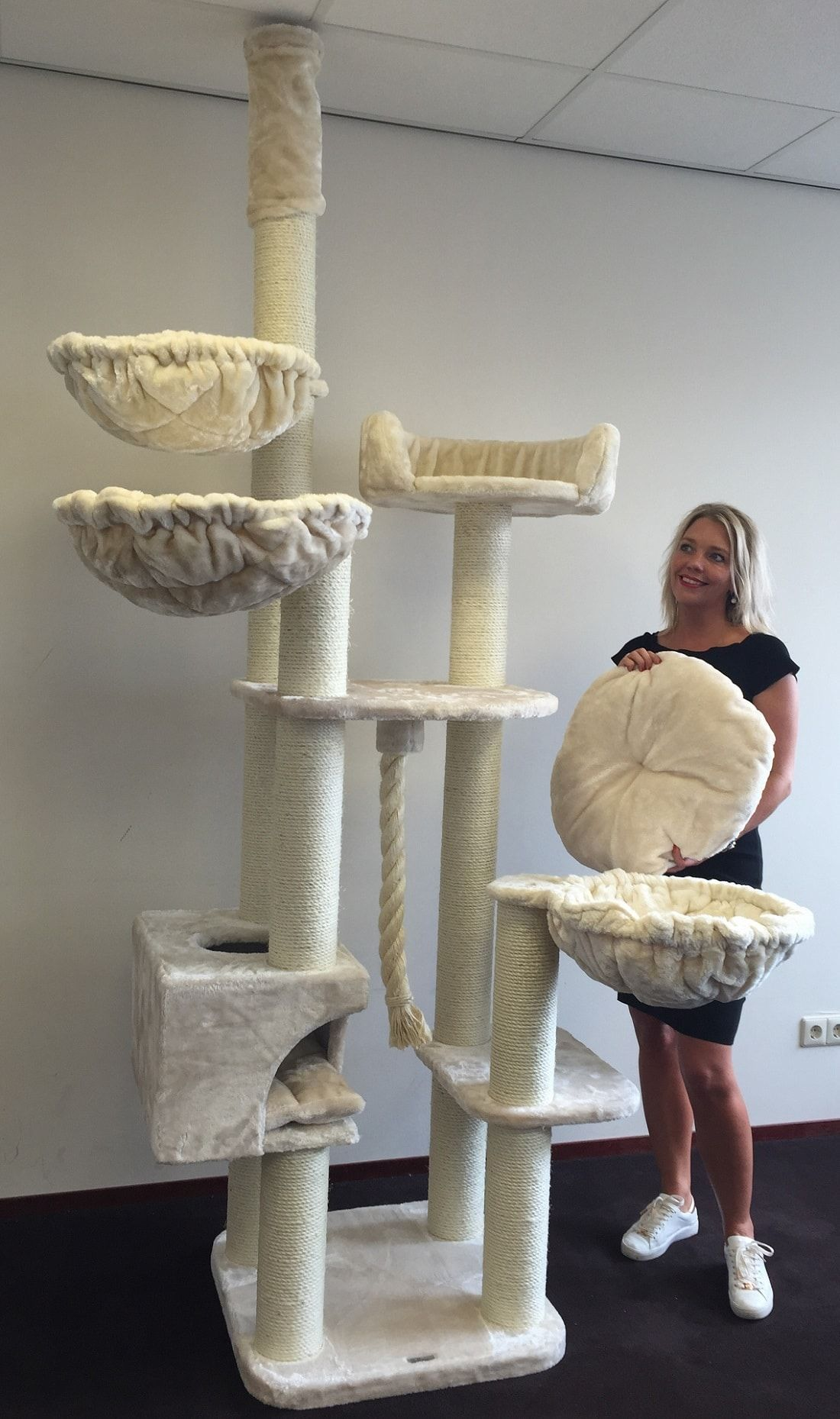 Floor To Ceiling Cat Trees LOWEST PRICES FREE DELIVERY