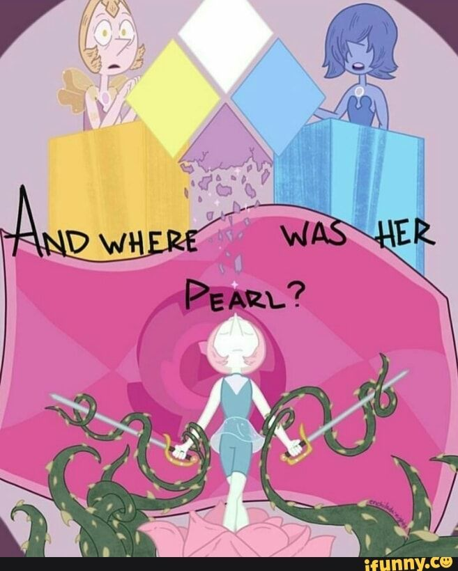 Ooooh What If Pearl Was White S But Reassigned To Pink
