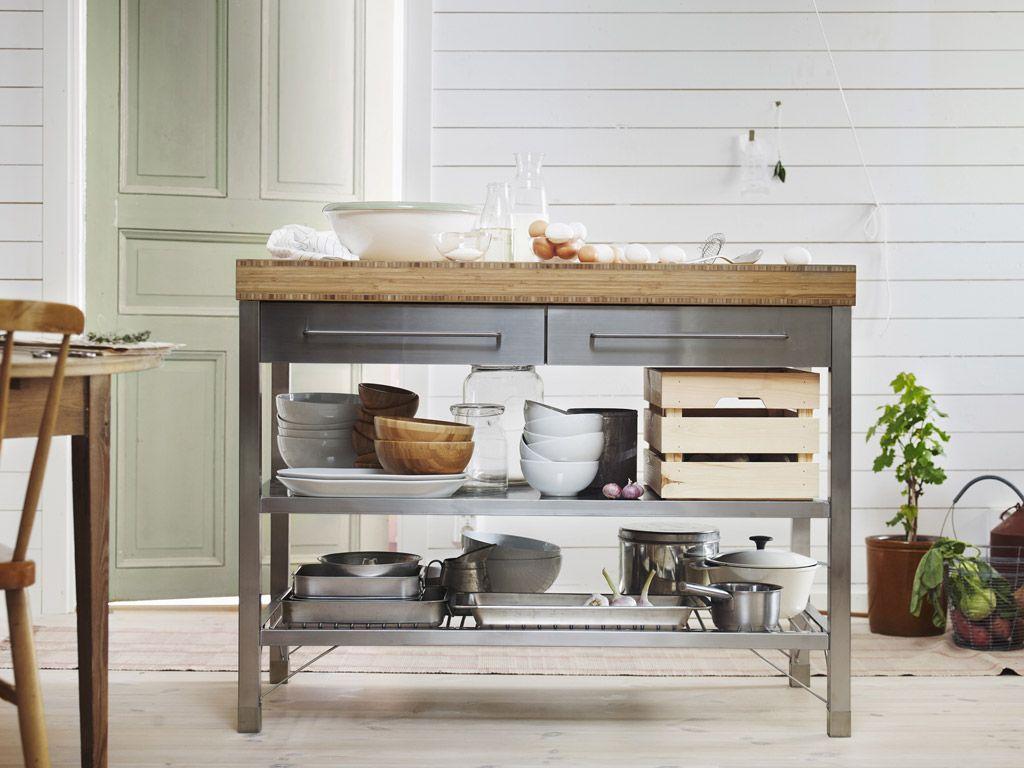 Ikea Workbench Rimforsa Google Search Egmond Inspiratie Pinterest Kitchens Crates And